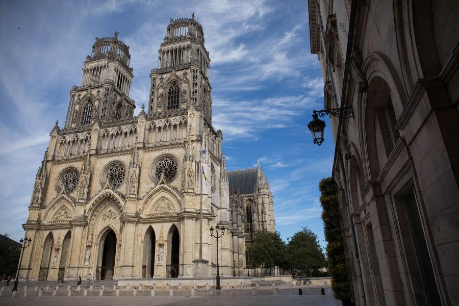 La cathédrale d'Orléans un édifice religieux du Loiret les plus visités
