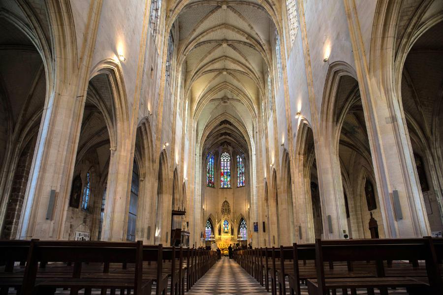 Basilique de Cléry Saint André exemple du gothique flamboyant comprenant le tombeau de LOUIS XI