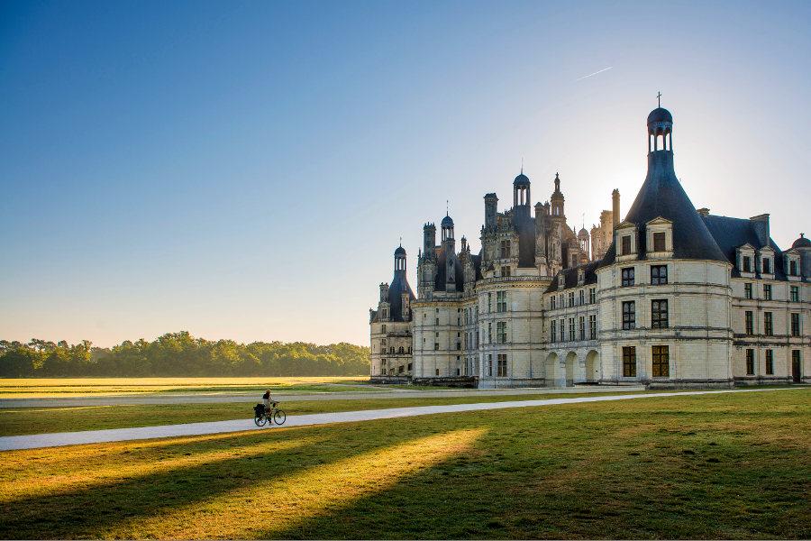 Chateau de Chambord dans le Loir et Cher sur la route des chateaux de la Loire