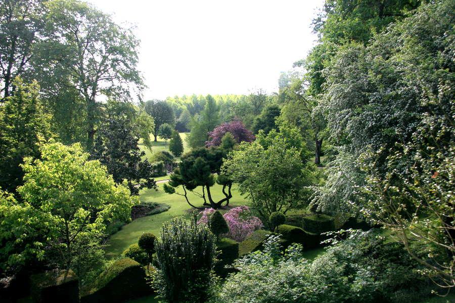 Jardins du plessis sasnieres dans le Loir et Cher près de Vendôme