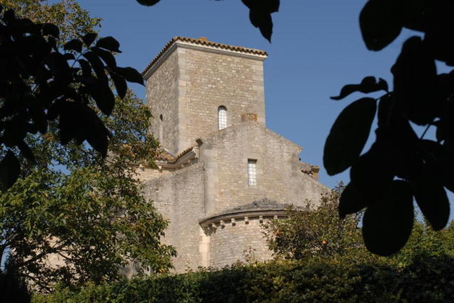 Oratoire Carolingien de Germigny des Pres sur la route des chateaux de la Loire