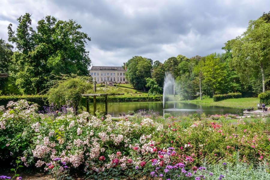 Parc floral d'Orléans La Source dans le Val de Loire