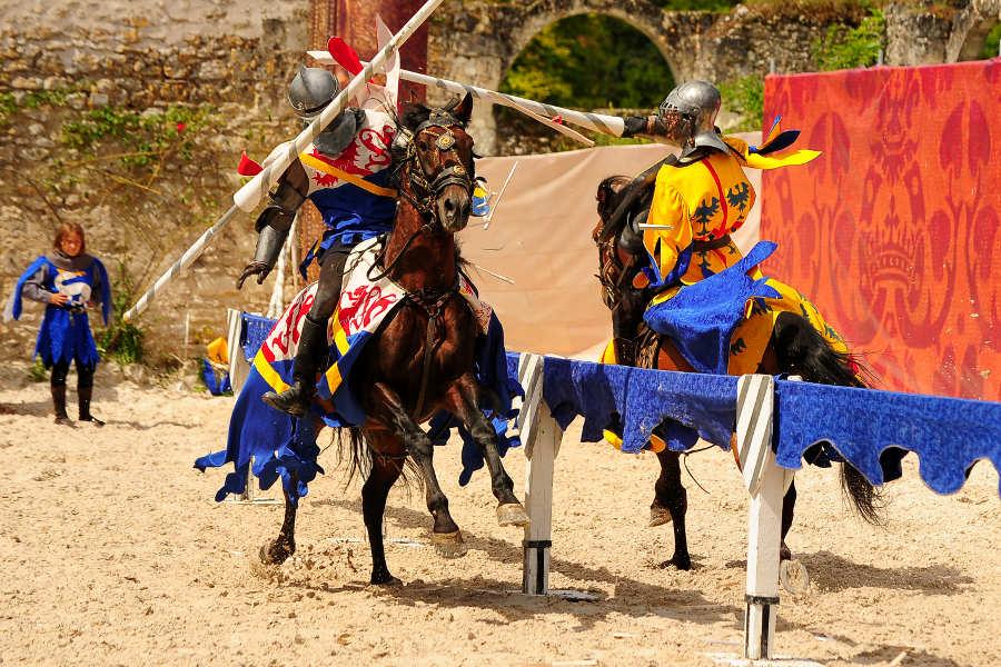 spectacle equestre du chateau de Chambord un spectacle impressionant et divertissant en famille