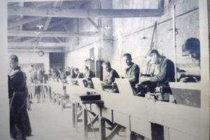 centre d'apprentissage aux métiers de la métalerie pendant le 2ème guerre mondiale dans els locaux actuels de l'hôtel la Tonnellerie
