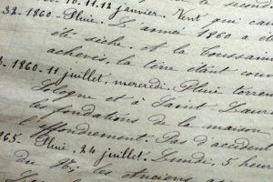 histoire du village de Tavers écrite par Abel Adam au 19ème siècle