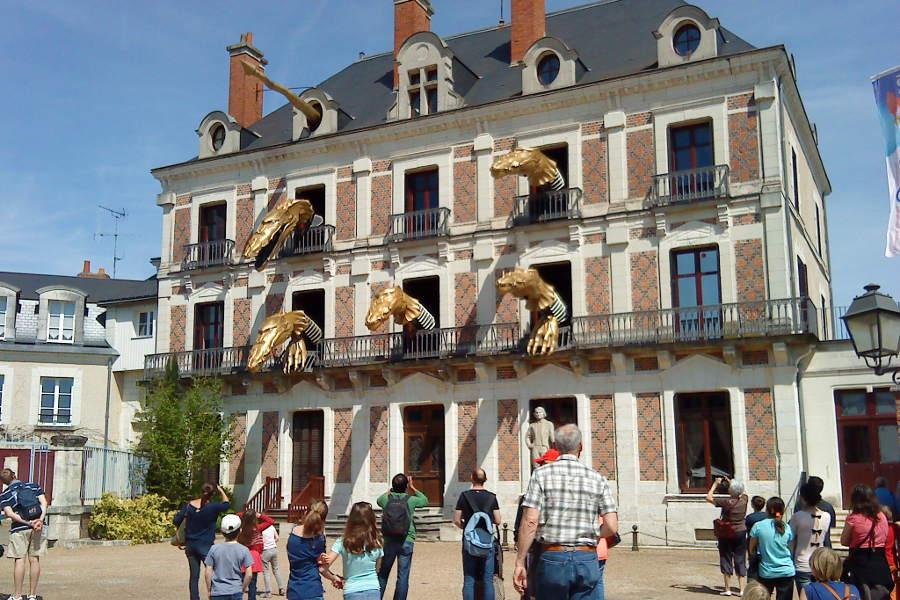 musée de la magie de Blois en face du Chateau dans le centre de la ville surplonbant la Loire