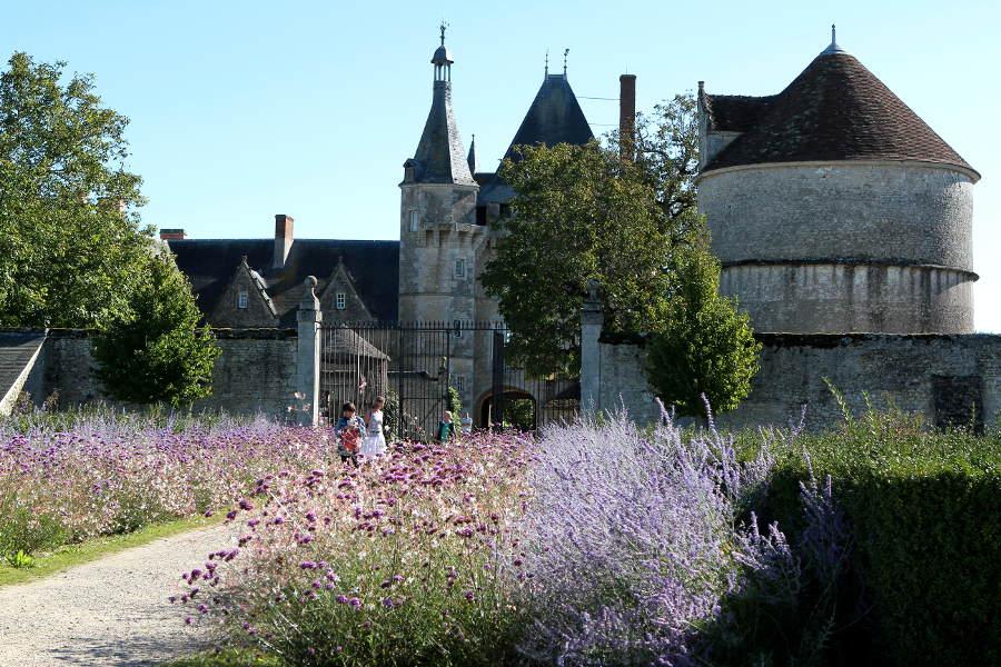 Le chateau de Talcy ayant inspiré Ronsard près de Beaugency dans le Loir et Cher