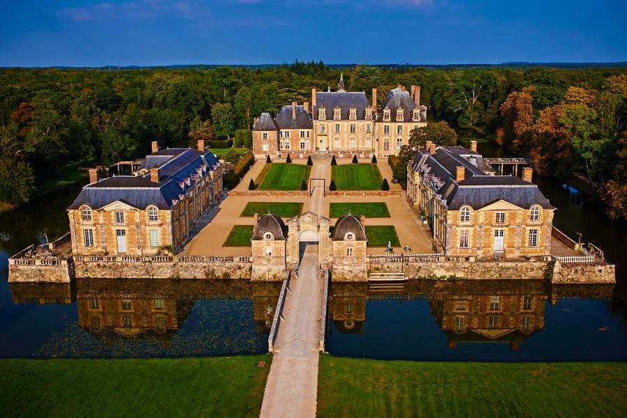 Chateau de la ferte saint aubin dans le loiret val de Loire