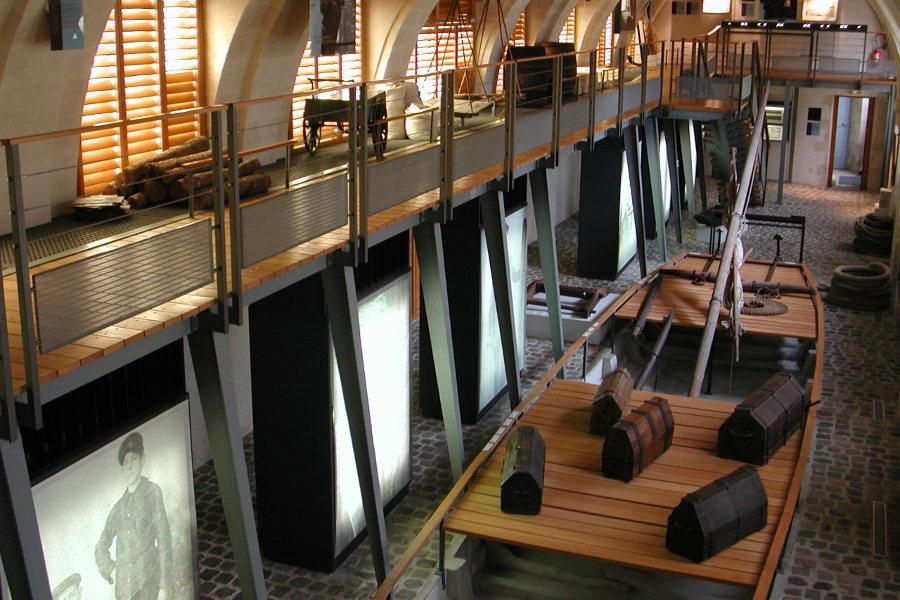 musee de la marine de Loire de Chateauneuf sur loire dans le Val de Loire