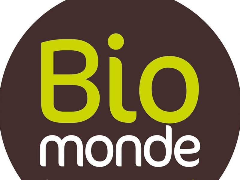 logi du magasin biomonde fournisseur de l'hotel ecolable de Tavers entre Orléans et Blois dans la région des chateaux de la Loire