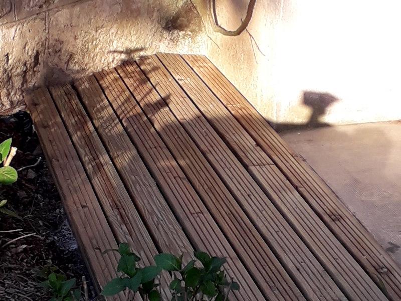 terrasse dans le jardin de hotel la Tonnellerie près du Chateau de Chambord