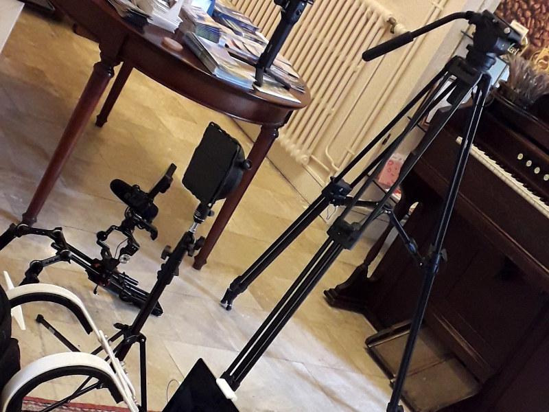 tournage film à hotel la Tonnellerie de Tavers entre Orléans et Blois